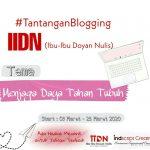 Tantangan Blogging IIDN Periode Maret 2020