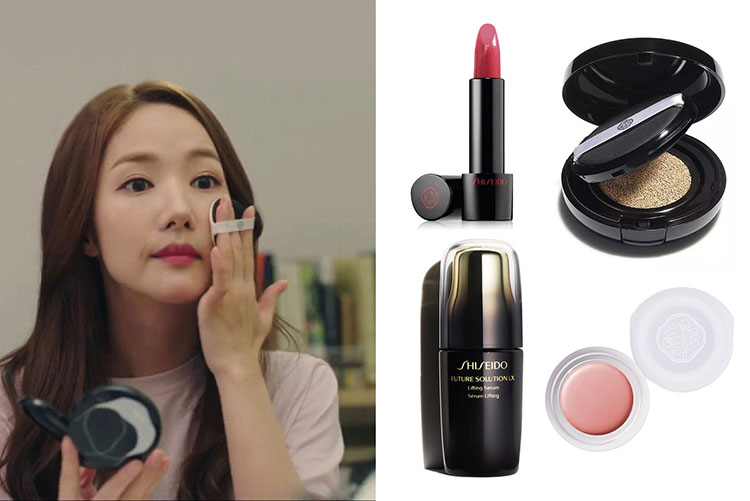 makeup table secretary kim