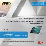 "ASUSxIIDN Blog Writing Competition: ""Perfect Device Built for Your Business"""