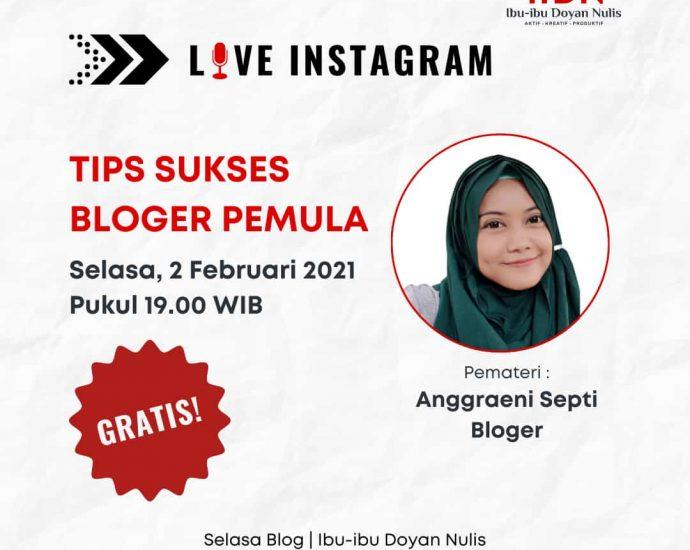 tips sukses bloger pemula