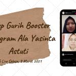 Resep Gurih Booster Instagram Ala Yasinta Astuti