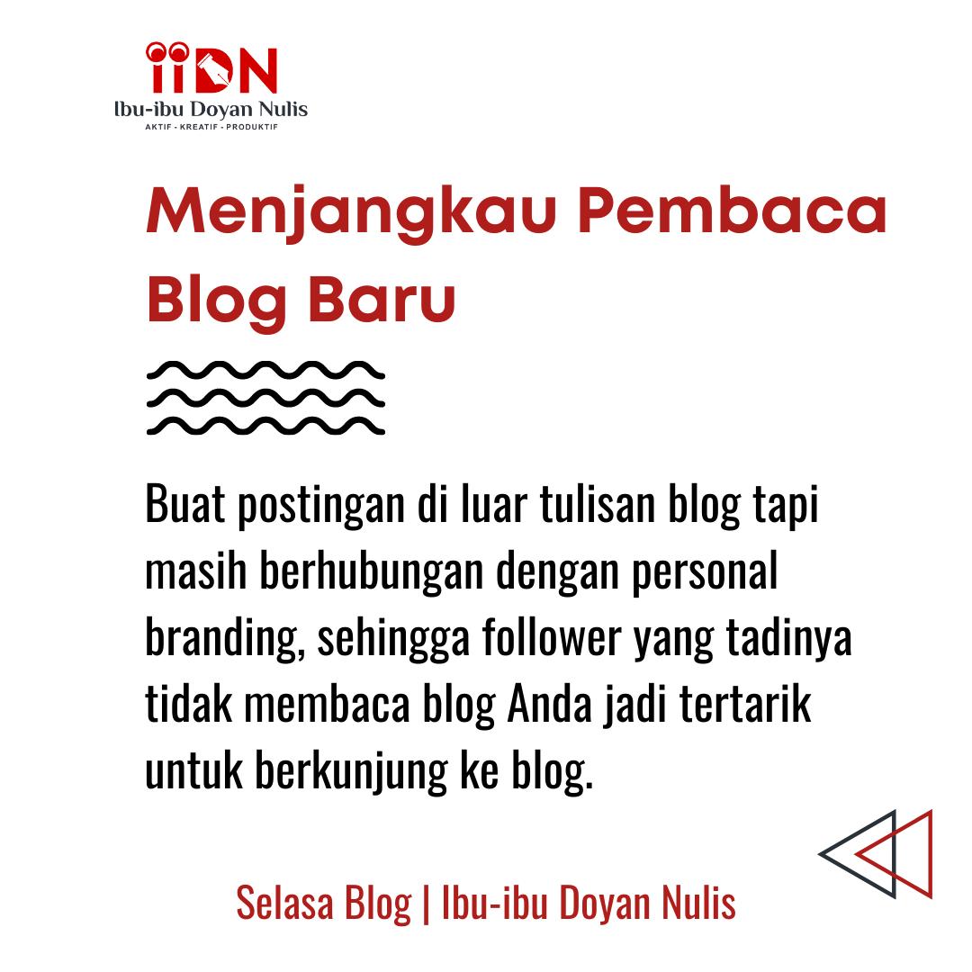 menambah pembaca blog baru