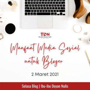manfaat media sosial untuk blogger